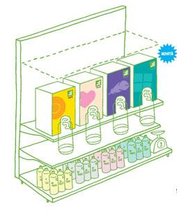Detersivi biologici alla spina Ecor