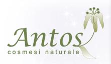 Antos cosmesi naturale logo