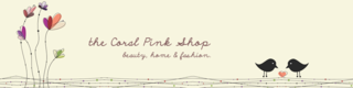 Logo The Coral Pink Shop