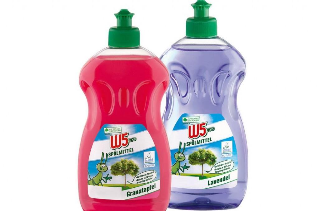 W5 Eco i detersivi ecologici ed economici del Lidl !