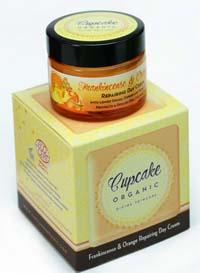 Recensione crema viso riparatrice Frankincense & Orange Cupcake Organic