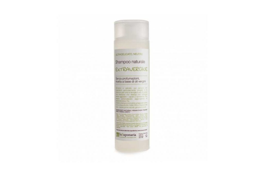 la saponaria shampoo extravergine