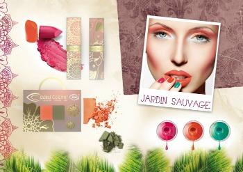 Couleur Caramel Jardin Sauvage : la nuova collezione make up ecobio primavera/estate