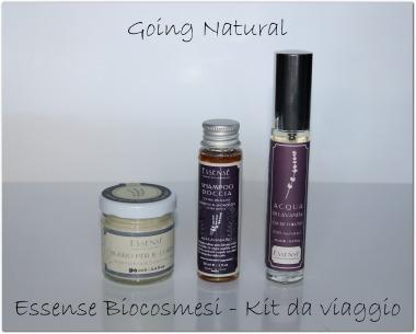 Recensione kit viaggio Essensè Biocosmesi