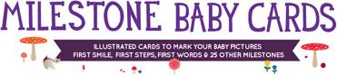 Milestone Baby Cards , originale idea regalo nascita