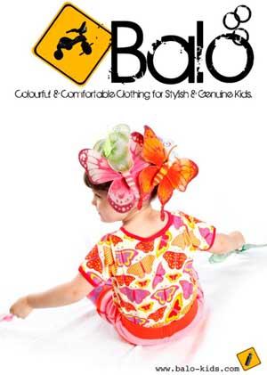 Balò Kids abbigliamento biologico colorato per bambini