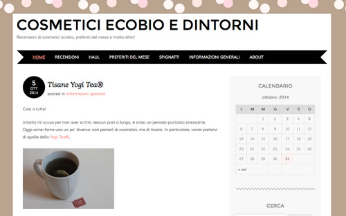 Intervista all' ecobio blog Cosmetici Ecobio e Dintorni