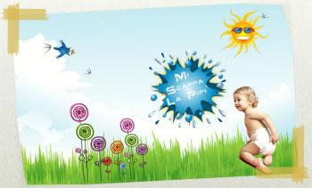 Miscappalapipi e i pannolini ecologici Bebè Nature