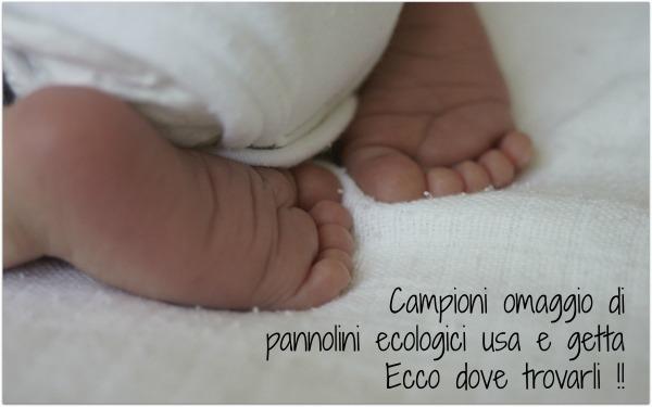 Campioni omaggio (e non) di pannolini ecologici usa e getta : dove scovarli !