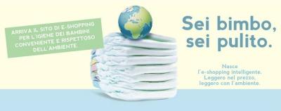 SeiBimbo , l' e-shop intelligente e leggero con l'ambiente
