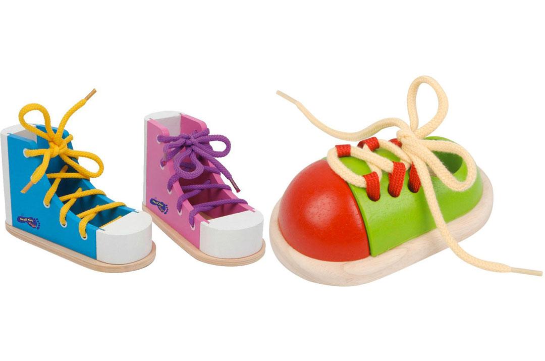 telai delle allacciature - scarpe