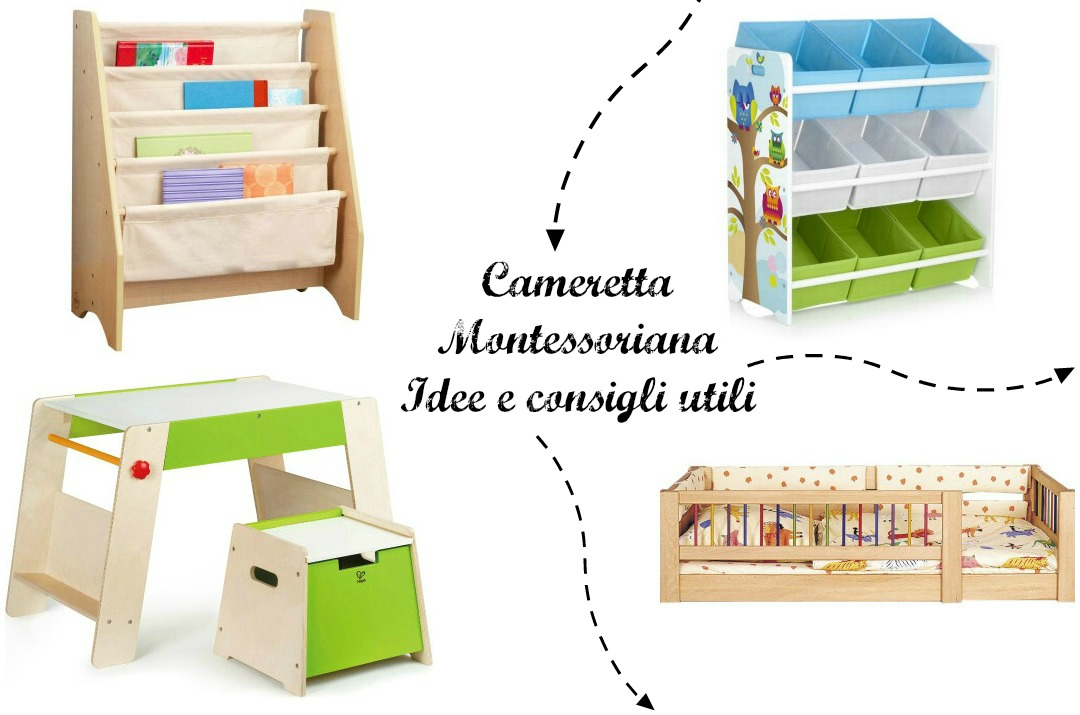 Cameretta montessoriana idee e consigli utili for Tavolino e sedia montessori