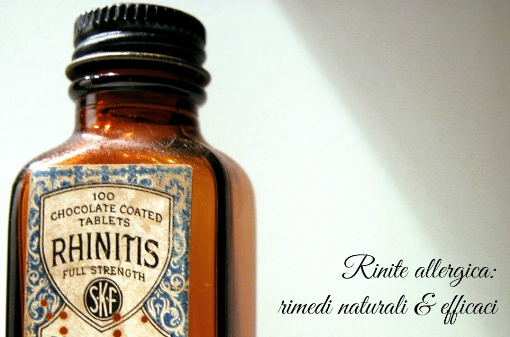 Rinite allergica : 10+ rimedi naturali & efficaci