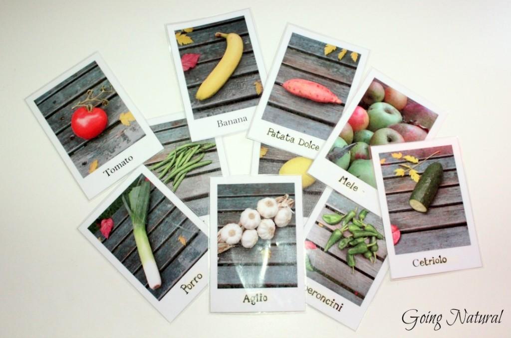 Metodo Montessori : carte tematiche o delle nomenclature (non solo) fai da te