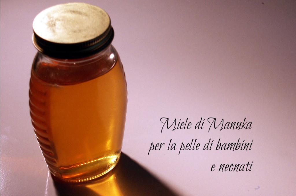 Miele di Manuka per la pelle di bambini e neonati