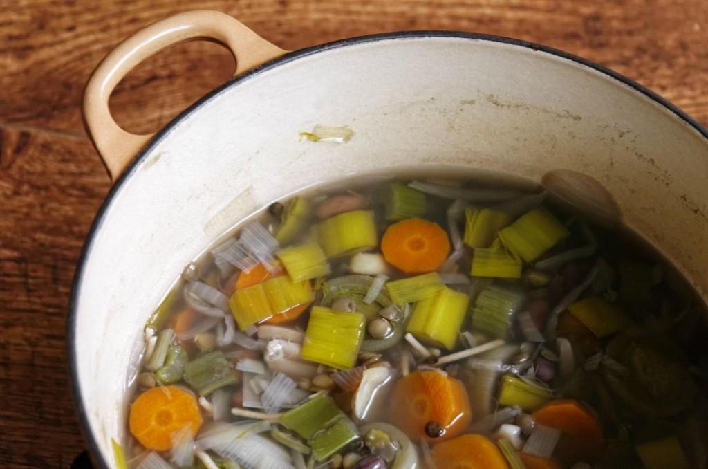 brodo vegetale per svezzamento