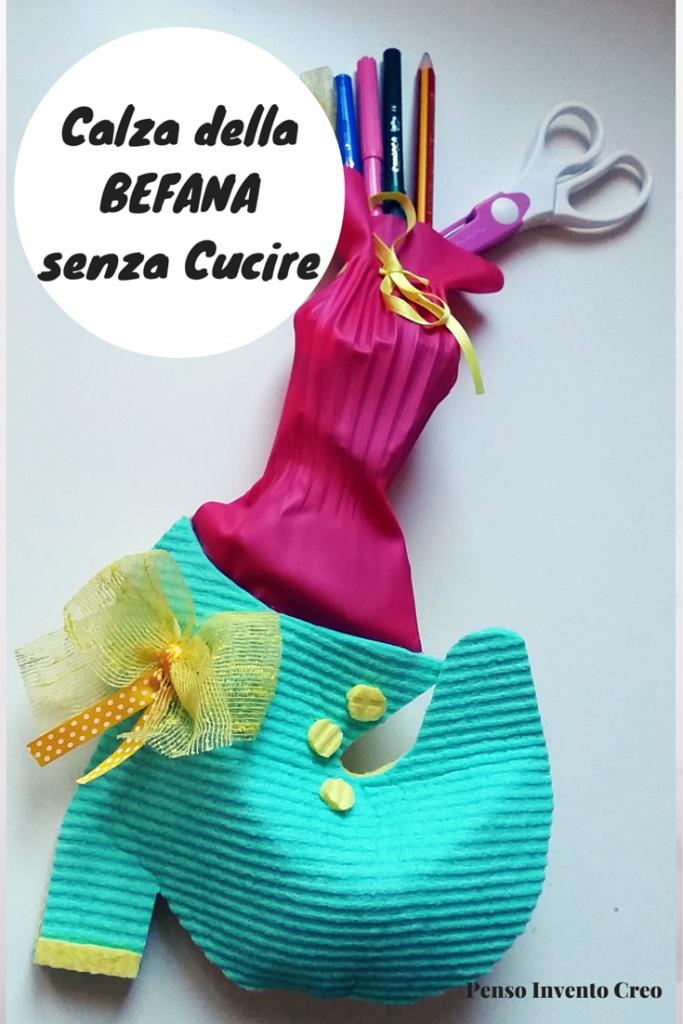 calze della befana fai da te con regali sani - Calze Della Befana Originali