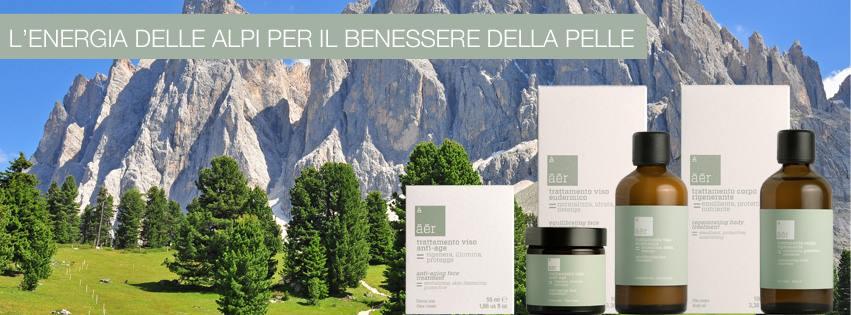 Āēr cosmetics, il bio d'alta gamma con le radici sulle Alpi