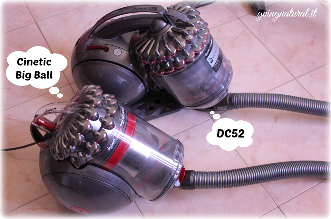 dyson cinetic big ball vs dyson dc52 offerta per voi. Black Bedroom Furniture Sets. Home Design Ideas
