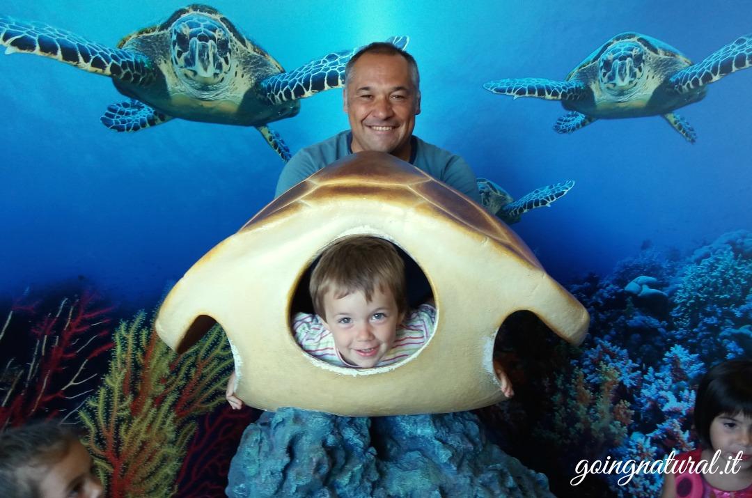 acquario cala gonone foto ricordo