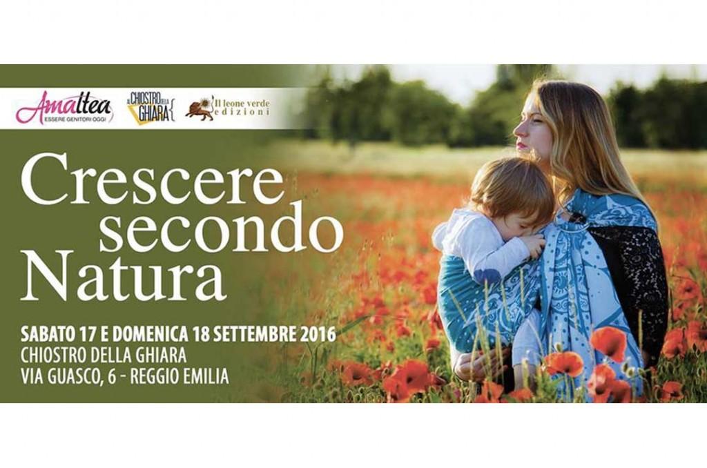 Crescere secondo natura 2016, evento per neo genitori a Reggio Emilia