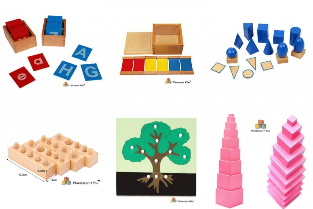Materiale montessori sicuro al giusto prezzo : gli indispensabili