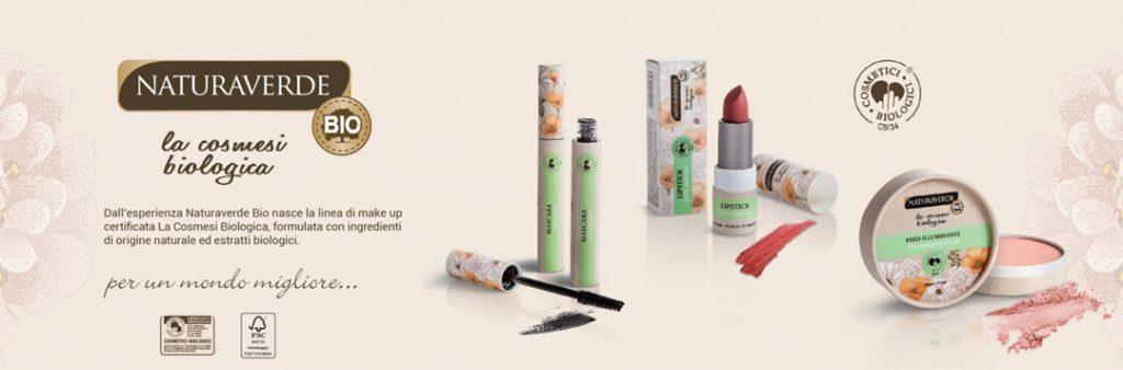 Naturaverde Bio diventa makeup : benvenuta La Cosmesi Biologica !