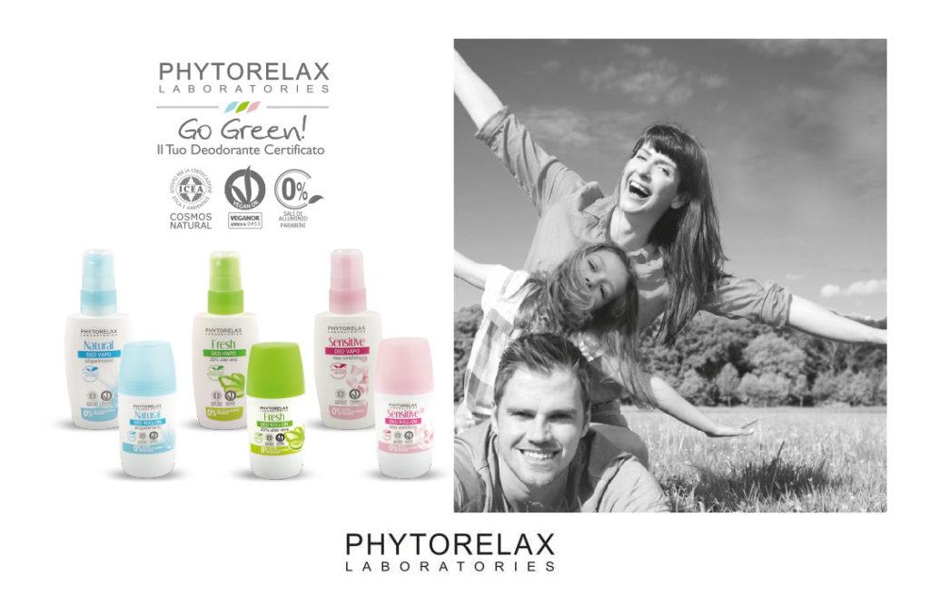Deodoranti naturali efficaci e certificati ? Li ha fatti Phytorelax !