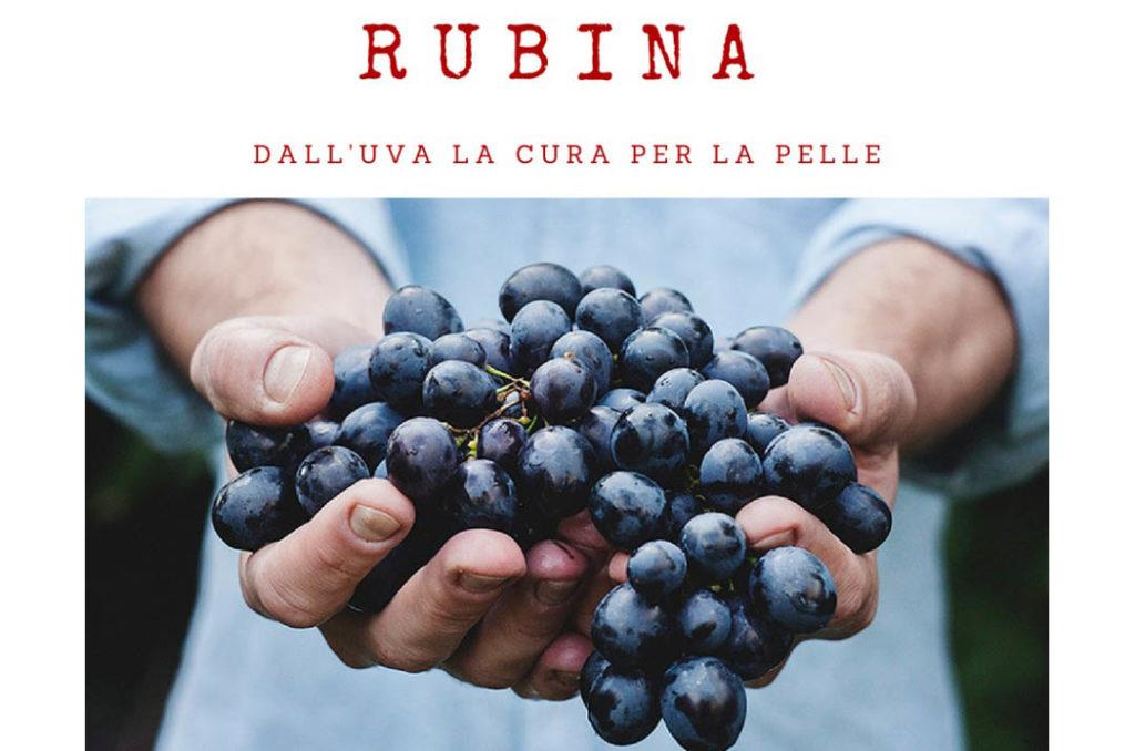 Rubina : cosmetici antiage naturali con uva e resveratrolo