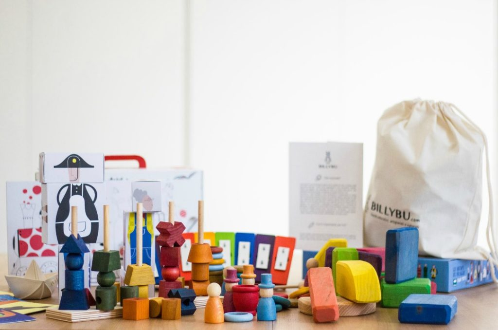 BILLYBU : la box di giochi artigianali e naturali per bambini