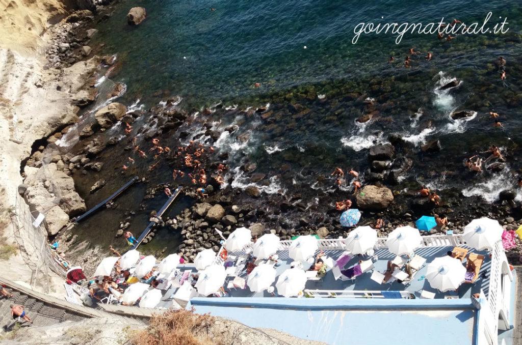 Baia di Sorgeto : alla scoperta del parco termale naturale di Ischia