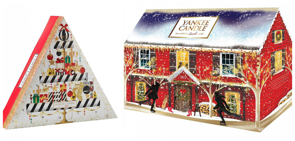 calendario dell'avvento yankee candle
