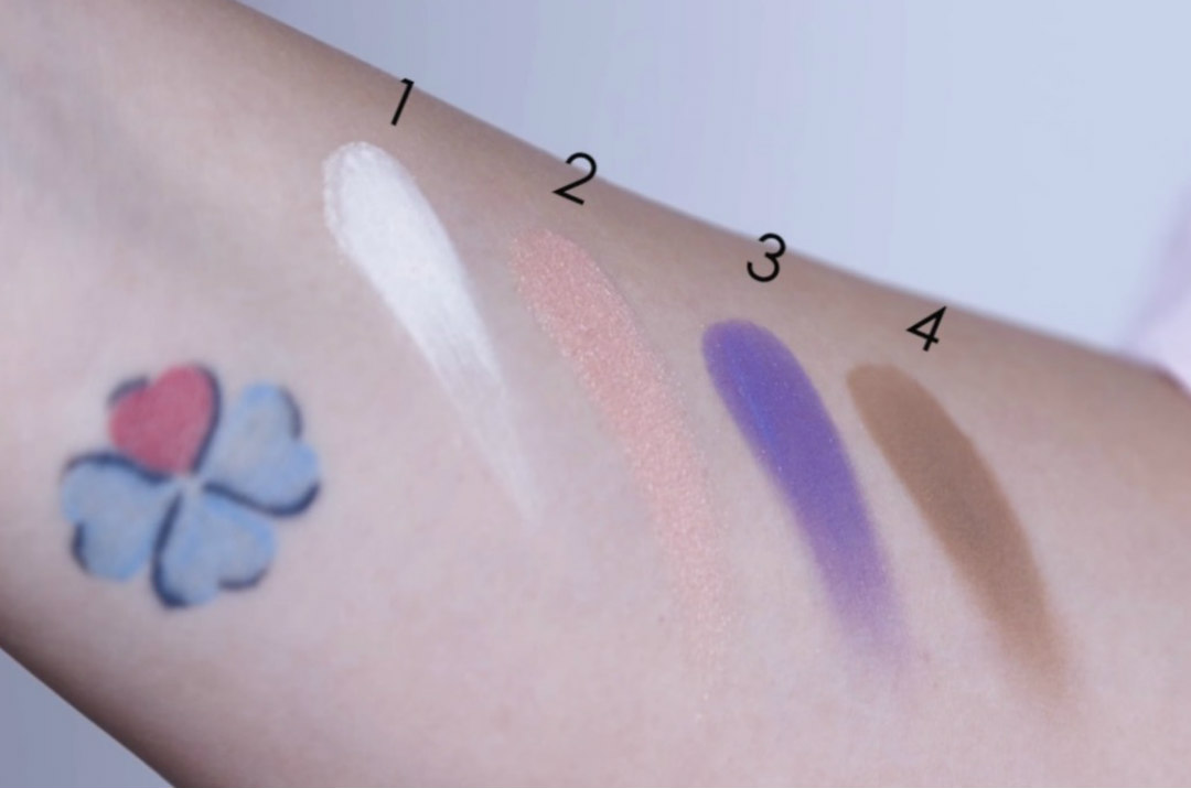 palette purobio desert dream swatches