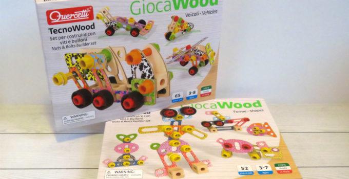 Quercetti Tecno Wood : le nuove costruzioni in legno Made in Italy