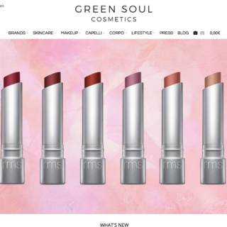 green soul cosmetics sito