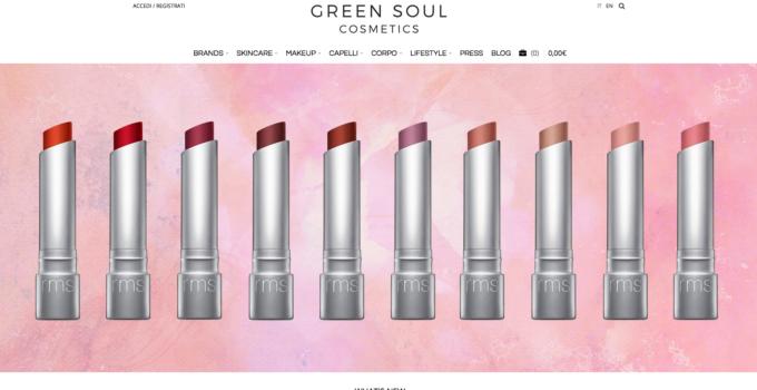 Green Soul Cosmetics & i cosmetici biologici di lusso