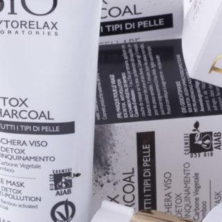 black mask bio detox charcoal phytorelax