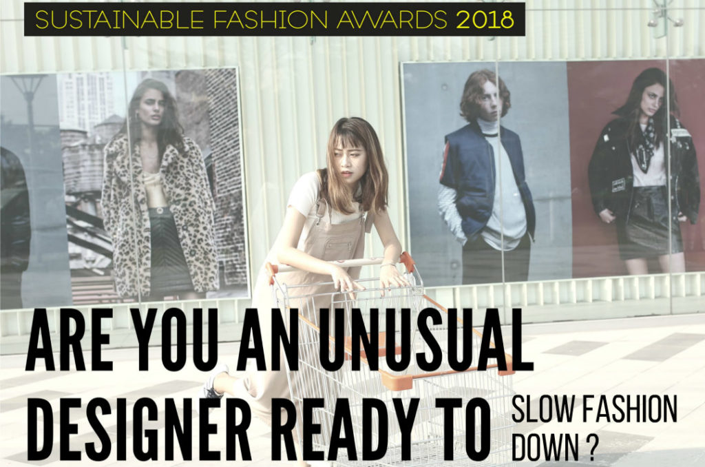 sustainable fashion award 2018