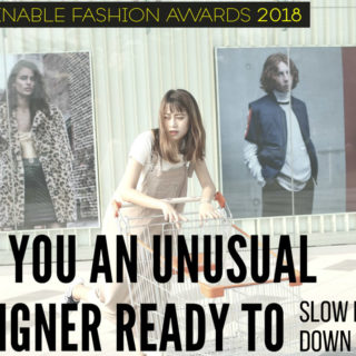 sustainable fashion award 2018