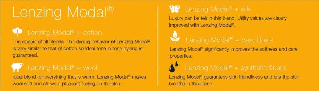 lenzing modal altre fibre