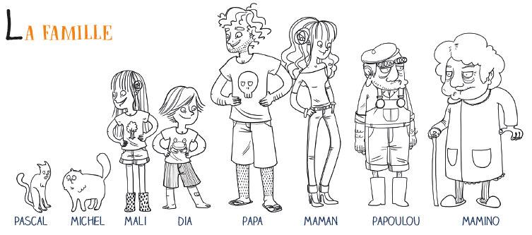 la famiglia zero rifiuti personaggi