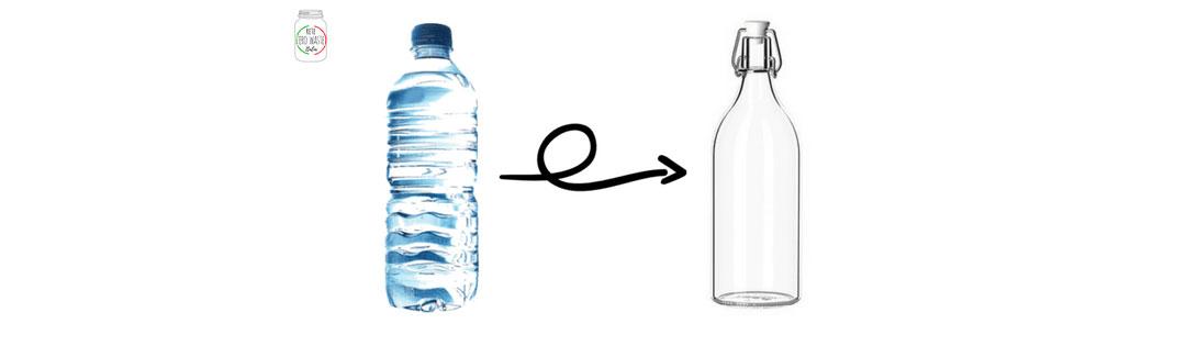 zero waste bottiglia