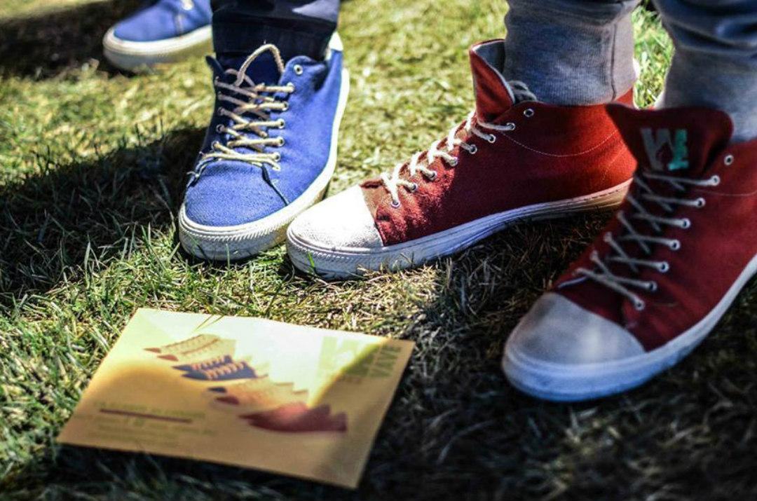 Wave scarpe sostenibili