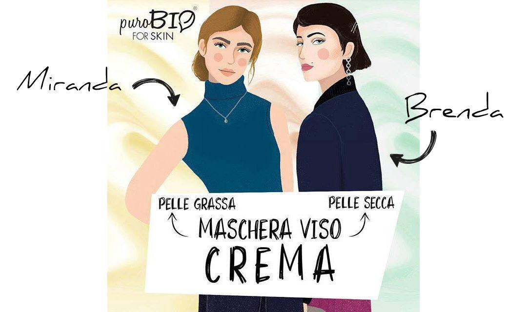 purobio for skin maschere viso crema