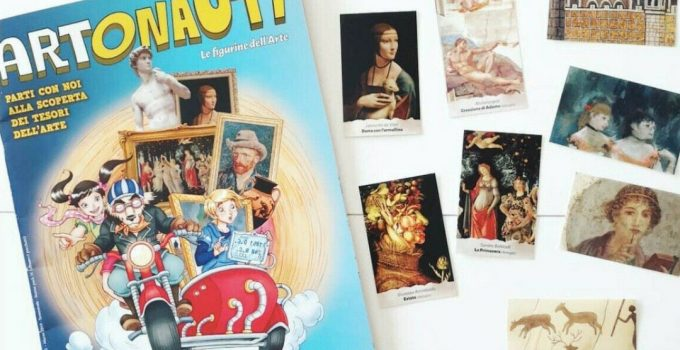 Artonauti , l'album di figurine della storia dell'arte che va a ruba