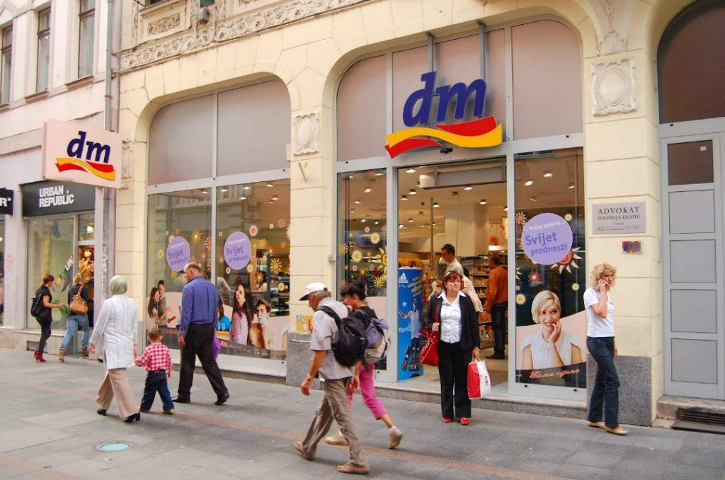dm italia negozio