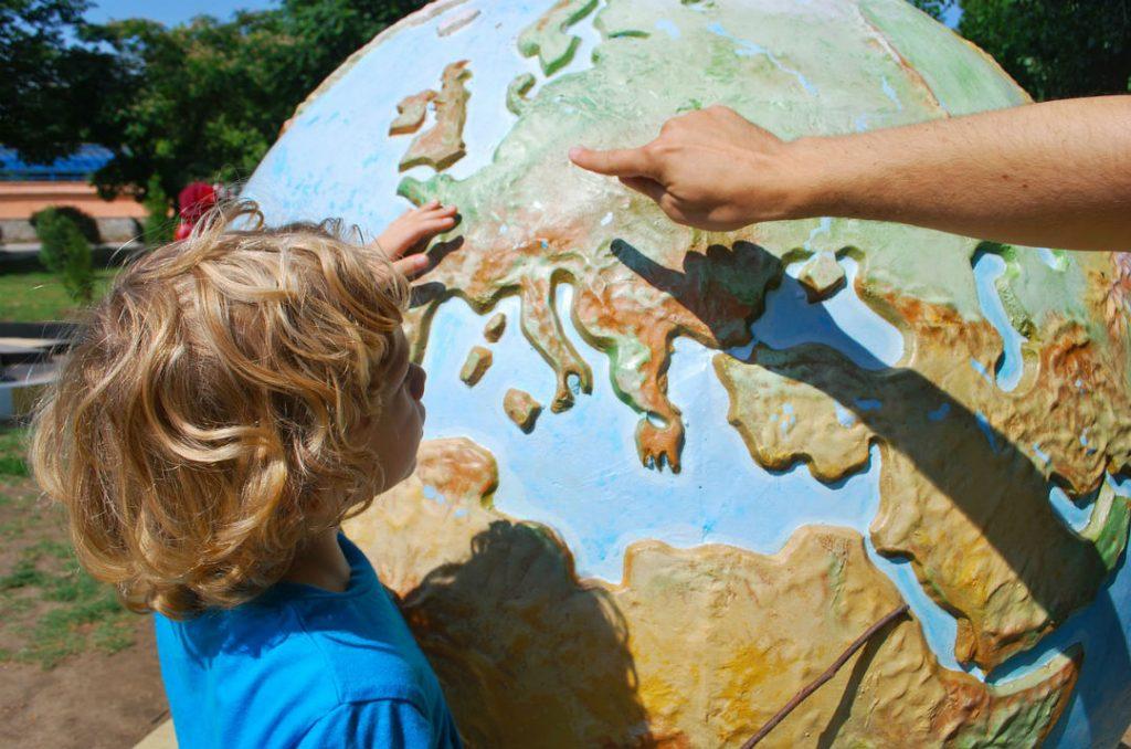geografia per bambini e ragazzi