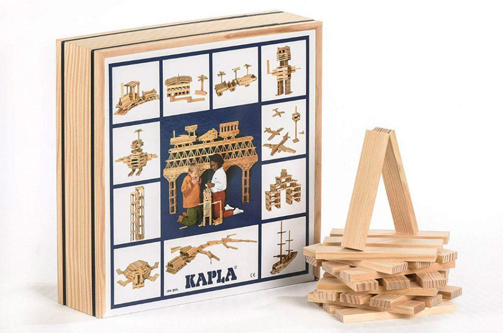 Kapla mattoncini di legno ed è libero sfogo alla fantasia