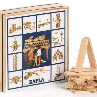 kapla set scatola legno