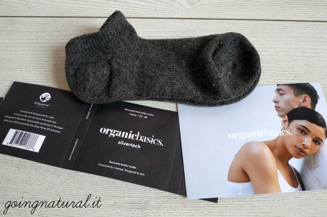 organic basics calze